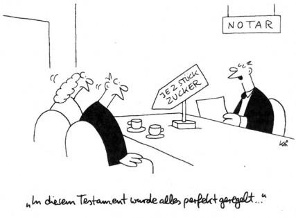 Das notarielle Testament - Testament